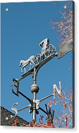 Usa, Nevada Edith Palmer's Country Inn Acrylic Print by Michael Defreitas
