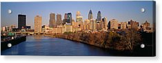 Usa, Pennsylvania, Philadelphia Acrylic Print by Panoramic Images