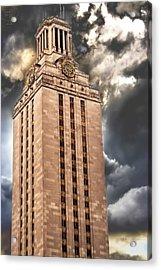 Ut Tower Acrylic Print by Tejas Prints