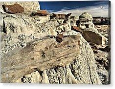 Utah Erosion Acrylic Print by Adam Jewell