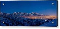 Utah Valley Acrylic Print by Chad Dutson