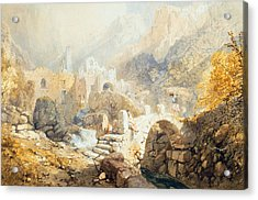 Val Di Ferriera Acrylic Print by James Baker Pyne