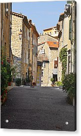 Valbonne - French Village Of Contradictions Acrylic Print by Christine Till