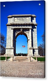 Valley Forge Landmark Acrylic Print by Olivier Le Queinec