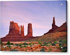 Valley Of The Gods - A Oasis For The Soul Acrylic Print by Christine Till