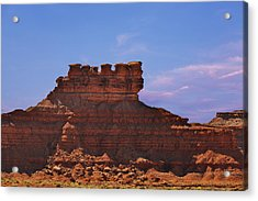 Valley Of The Gods Acrylic Print by Christine Till