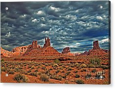 Valley Of The Gods Acrylic Print by Robert Bales