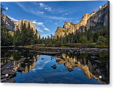 Valley View I Acrylic Print by Peter Tellone