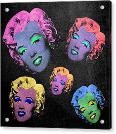 Vampire Marilyn 5b Acrylic Print by Filippo B