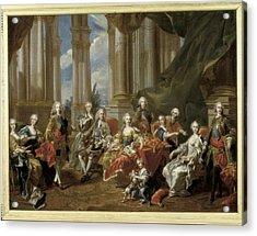 Van Loo, Louis Michel 1707-1771. Philip Acrylic Print by Everett