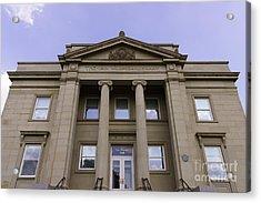 Van Wormer Library At The University Of Cincinnati Acrylic Print by Paul Velgos