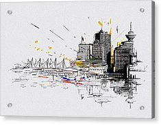 Vancouver Art 004 Acrylic Print by Catf