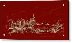 Vancouver Art 007 Acrylic Print by Catf
