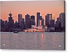 Vancouver Bc Acrylic Print by Brian Chase