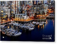 Vancouver British Columbia 10 Acrylic Print by Bob Christopher