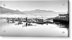 Vancouver Mist Acrylic Print by Alexis Birkill