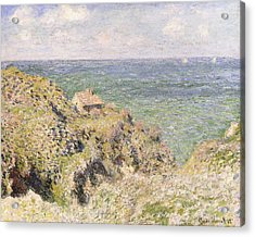 Varengeville Gorge Acrylic Print by Claude Monet