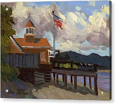 Vashon Island 4th Of July Acrylic Print by Diane McClary