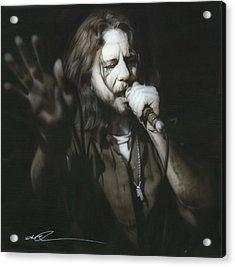 Eddie Vedder - ' Vedder IIi ' Acrylic Print by Christian Chapman Art