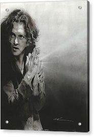 Eddie Vedder - ' Vedder Iv ' Acrylic Print by Christian Chapman Art