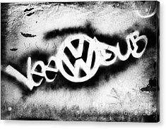 Vee Dub Acrylic Print by Tim Gainey