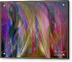 Veil Of Seduction Acrylic Print by Irma BACKELANT GALLERIES