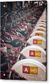 Velo Antwerpen Acrylic Print by Joan Carroll