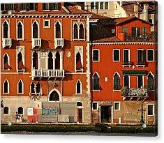 Venetian Red Acrylic Print by Ira Shander