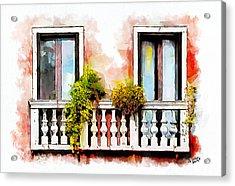 Venetian Windows 5 Acrylic Print by Greg Collins