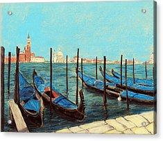 Venice Acrylic Print by Anastasiya Malakhova