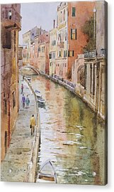 Venice In October Acrylic Print by Andrii Gerasymiuk