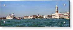 Venice Panoramic Acrylic Print by Melanie Viola