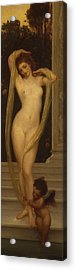 Venus And Cupid Acrylic Print by Frederic Leighton