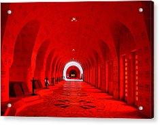 Verdun Ossuary Acrylic Print by Joanna Madloch