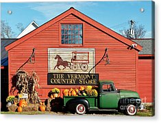 Vermont Country Store Acrylic Print by John Greim