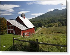 Vermont Farm Acrylic Print by Jim  Wallace