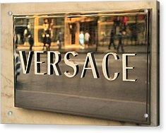 Versace Acrylic Print by Dan Sproul