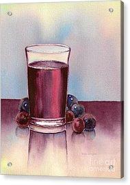 Very  Berry Acrylic Print by Nan Wright