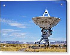 Very Large Array - Vla - Radio Telescopes Acrylic Print by Christine Till