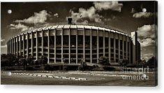Veterans Stadium 1 Acrylic Print by Jack Paolini