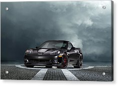 Vette Dream Acrylic Print by Peter Chilelli