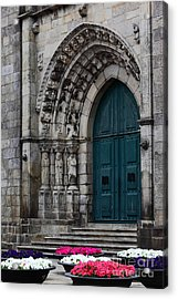 Viana Do Castelo Cathedral Acrylic Print by James Brunker