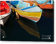 Vibrancy At Puerto De Morgan. Acrylic Print by Pete Reynolds