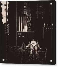 Victor Frankenstein's Lab Acrylic Print by Bob Orsillo
