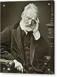 Victor Hugo Acrylic Print by French Photographer