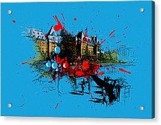 Victoria Art 003 Acrylic Print by Catf
