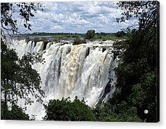 Victoria Falls View  Acrylic Print by Aidan Moran