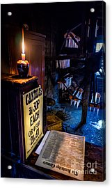 Victorian Candle Shop Acrylic Print by Adrian Evans