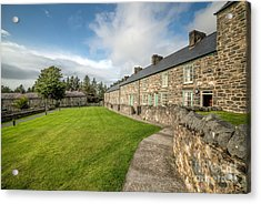 Victorian Cottages Acrylic Print by Adrian Evans