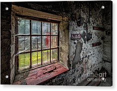 Victorian Decay Acrylic Print by Adrian Evans
